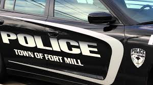 A Fort Mill Police Department patrol car.